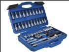 1/4in Square Drive Socket & Bit Set 46 Piece